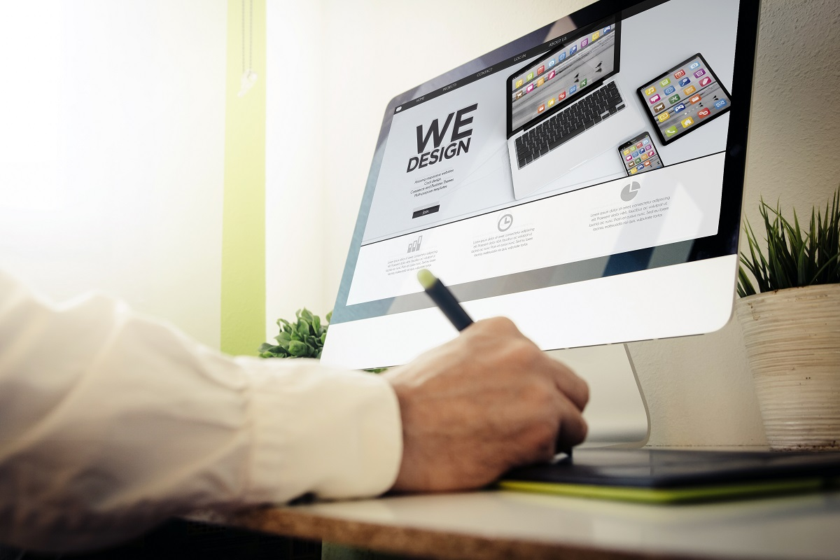 web developer concept