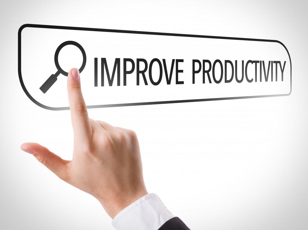 Improve Productivity written in search bar