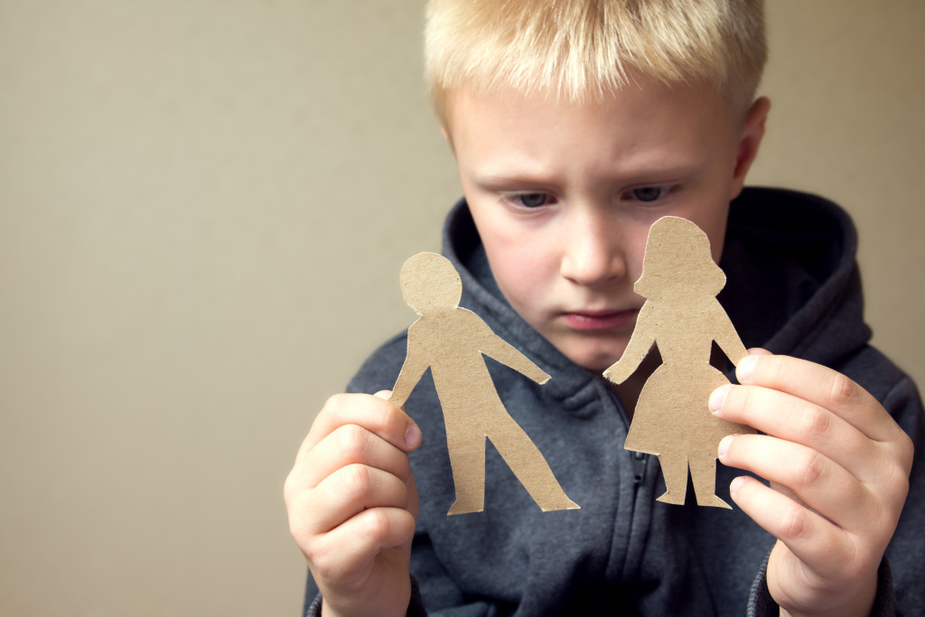 child affected by child custody