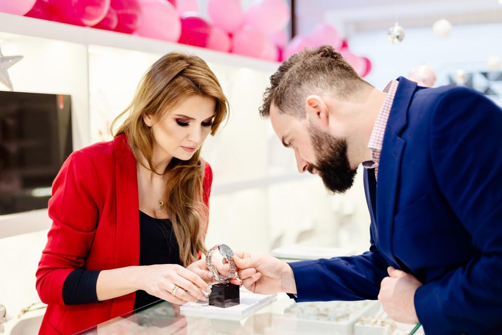 wrist watch customer