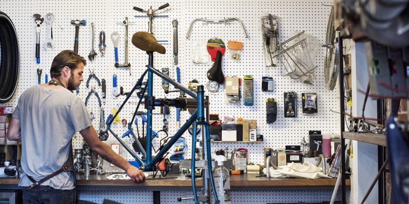 man with repair tools